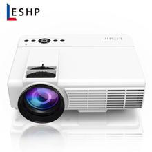 LESHP Q5 LED Projector 800*480 Pixel 1200LM Mini Home Theater Video Projector Home Cinema TV Laptops Smartphones(China)