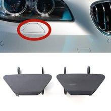 2 pièces voiture avant pare-chocs phare phare rondelle couvercle pour 2011 2012 2013 BMW F10 F18 5 série 535i 550i