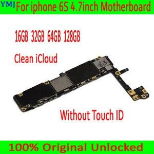Image 2 - Full Mở Khóa Cho Iphone 6 S 6 S Bo Mạch Chủ Có/Không Có Cảm Ứng ID ban Đầu Dành Cho Iphone 6 S Chuẩn Mainboard Với Đầy Đủ Chip 16GB 64G 128G