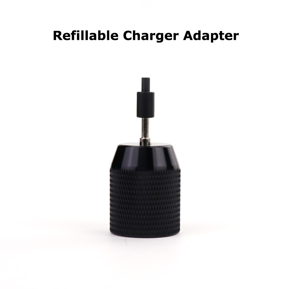 New Paintball Air Gun Airsoft PCP CO2 Refillable Needle Charger Adapter Acessorios-BLACK