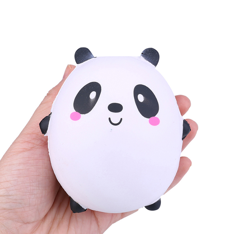 New Cute Panda Unicorn Squishy Slow Rising Kawaii Animal Doll Soft Squeeze Toy Bread Scent Stress Relief Fun For Kid  Toys Gifts
