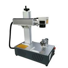 20W Raycus rotary Fiber Laser Marking Machine 150*150mm Metal Marking Machine Laser Engraving Machine Stainless Steel
