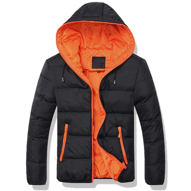 2019 New Winter Jackets   Parka   Men Autumn Winter Warm Outwear Brand Slim Mens Coats Casual Windbreaker Quilted Jackets Men E81206