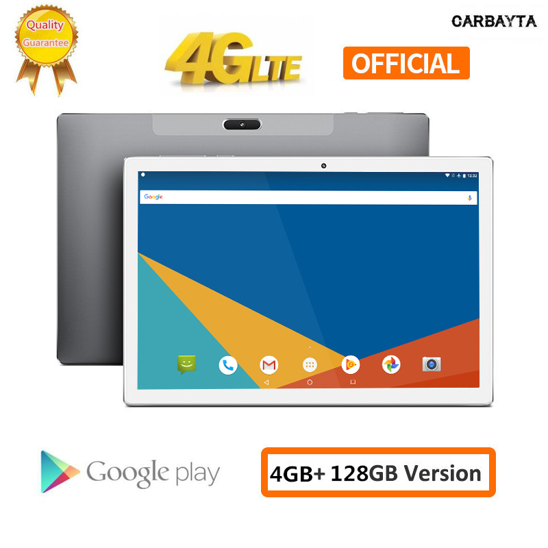 Tablets Deca Core Tablet PC 10.1 Inch Andriod 1920*1200 MT6797 4G Phone Call 4GB RAM 128GB ROM Type-C GPS Wifi Support PUBG Game