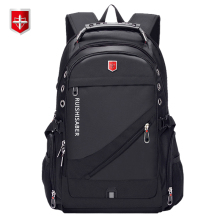 Laptop Backpack School-Bag Usb-Charging Oxford Women Rucksack Swiss 17inch Vintage Waterproof