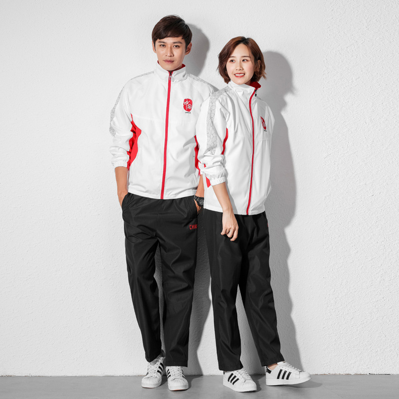 Spring And Autumn New Style China Uniforms Sports Set Men And Women School Uniform Martial Arts Instructor Long Sleeve Running C