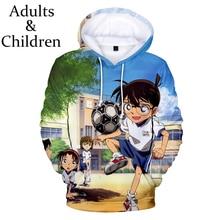 Sweatshirt Hoodie Detective Conan Pullover Print Unisex New-Fashion 3D Boy Girl Famous