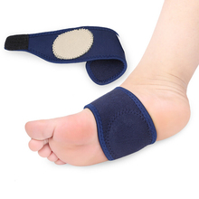Foot Pain Relief Plantar Fasciitis Orthopedic Insoles Breathable Elastic Silica Gel High Arch  Orthotics Bandage For Heel 1pair