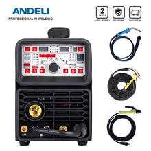 ANDELI חכם מכונת ריתוך MIG TIG MMA ריתוך קר שטף ריתוך ללא גז 4 ב 1Multi function TIG ריתוך מכונה