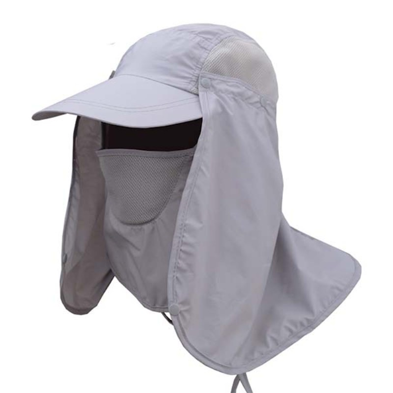 Unisex Summer Hat Sun Protection Hat UV Protection Face Neck Flap Sun Cap Face Man Outdoor Fishing Hiking Work Casual Hat