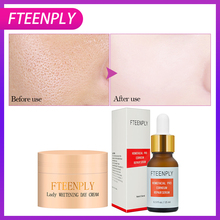 2PCS FTEENPLY Facial Serum Homefacial Pro Corneum Repair Serum+Lady Whitening Cream Hyaluronic Acid Stock Solution Face