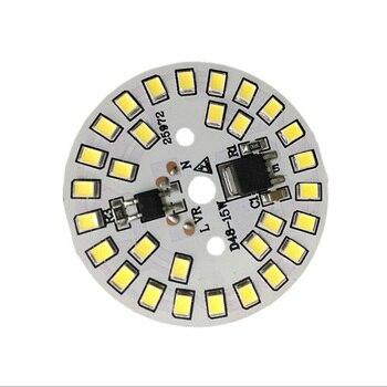 LED SMD Chip LED Bulb Lamp 15W 12W 9W 7W 5W 3W AC220V  Smart IC LED Bean DOB For Bulb Light Driverless Cold White Warm White led bulb light 3w 5w 7w 9w 12w 15w ac 110v 220v 240v e27 led bulb lamp smart ic real power cold white warm white lamp