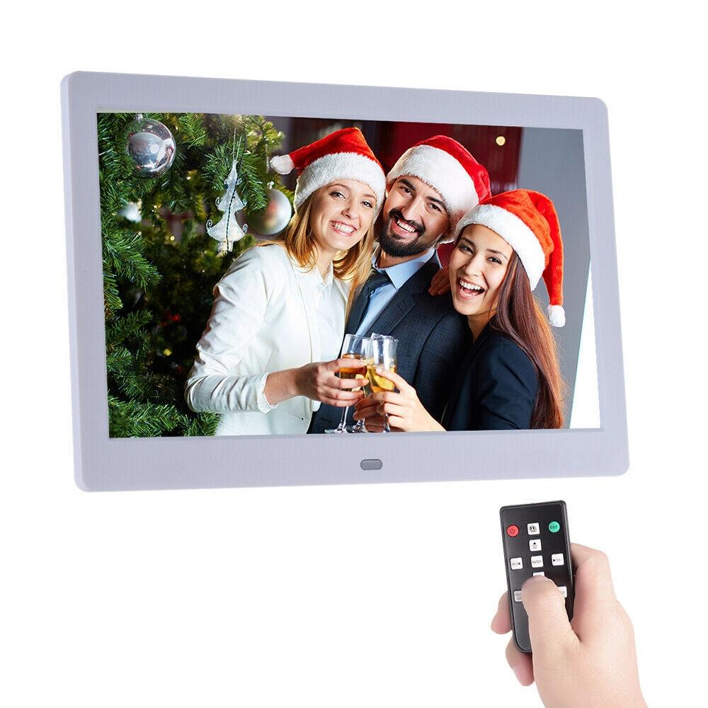 10 дюймов HD ips lcd 1280*800 цифровая фоторамка будильник MP3 MP4 видео плеер с дистанционным управлением цифровые рамки для фотографий
