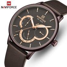 Mens Watches NAVIFORCE Top Luxury Brand Waterproof 24 Hour D