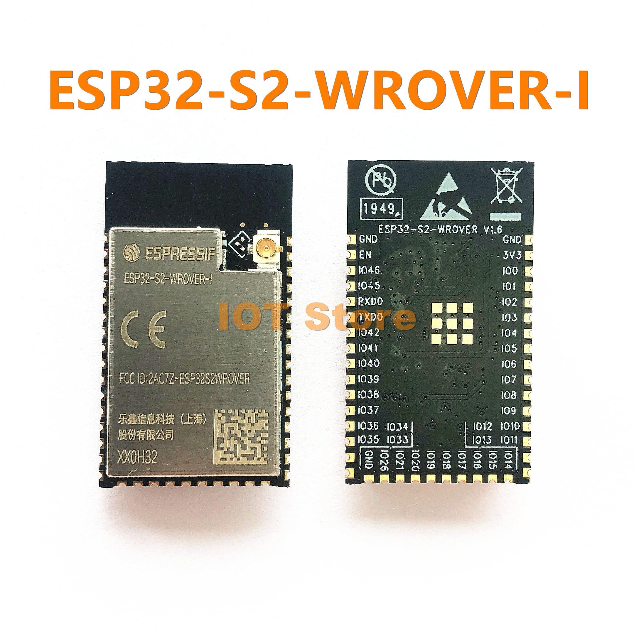 ESP32 S2 WROVER I ESP32 S2 SMD module 3 3V 2MB PSRAM 4MB SPI flash IPEX