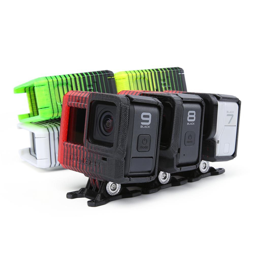 IFlight 3D Drucken TPU Einstellbare Winkel GoPro Hero 5/6/7/8 kamera Montieren (0 ~ 40 °) W/Len abdeckung/ND8 filter für XL5 V4/DC5/SL5 FPV rahmen