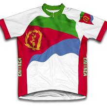 Эритрейский флаг Велоспорт Джерси Лето короткий рукав для мужчин Быстросохнущий велосипед MTB велосипед Топы Одежда