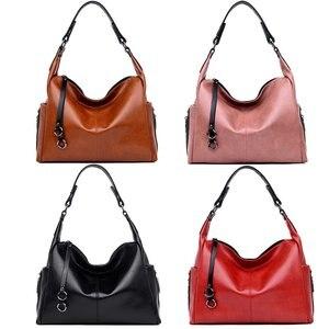 Image 2 - Gradosoo Fashion Zipper Chain Designer Tote Bag Luxury Handbags Women Large Capacity Shoulder Crossbody Bags For Women LBF430