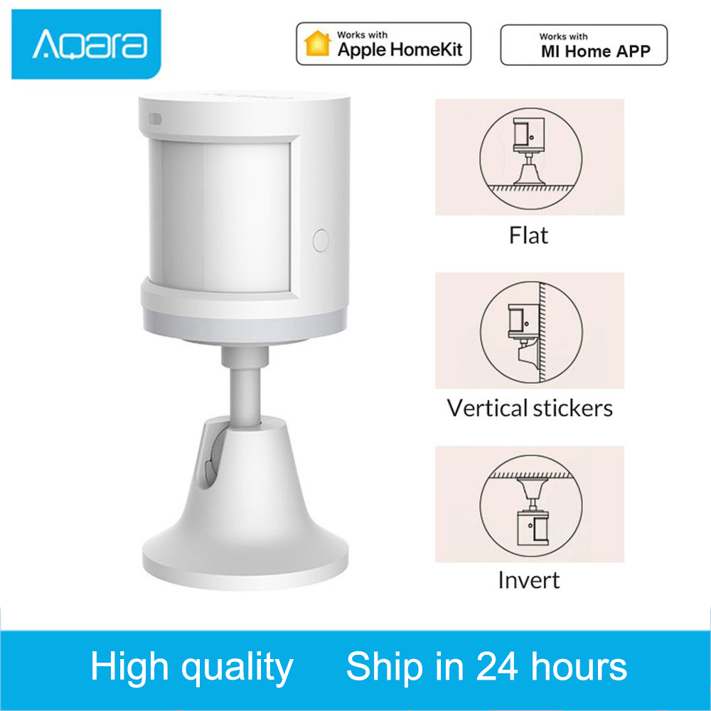 Aqara Wireless PIR Motion Detector Human Body Sensor Smart Body Sensor ZigBee MiHome APP Connection Security Home Alarm System