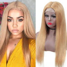 Honey Blonde Lace Front Wigs Ombre Wig Burgundy Wig 13x4 Lace Front Human Hair Wigs 4x4 Closure Wig Peruvian 150% Remy Hair