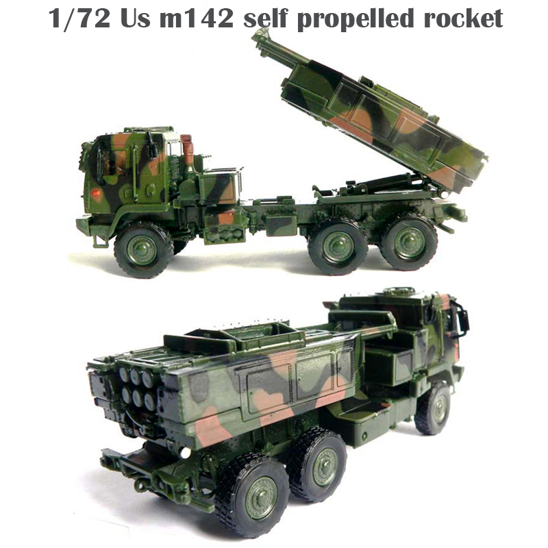 1/72  Us M142 Self Propelled Rocket  Semialloy Collection Model
