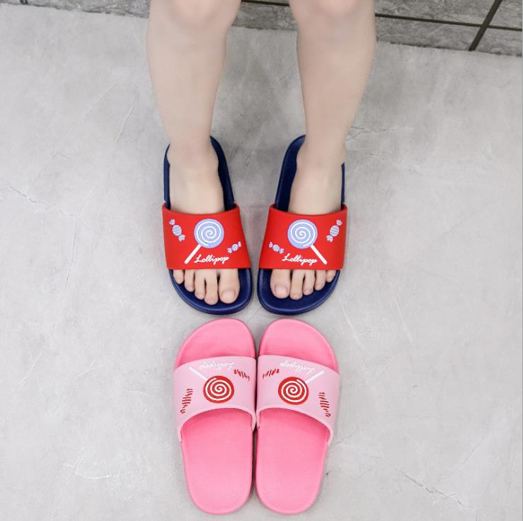 2020 Summer Children  Girls Boys  PVC Slippers  Non-slip Beach Shoes 24-35 D09  XQ01