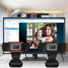 30 Degrees Rotatable HD Webcam 480P USB Camera Video Recording Web With Microphone For PC Chat Computer Accessory