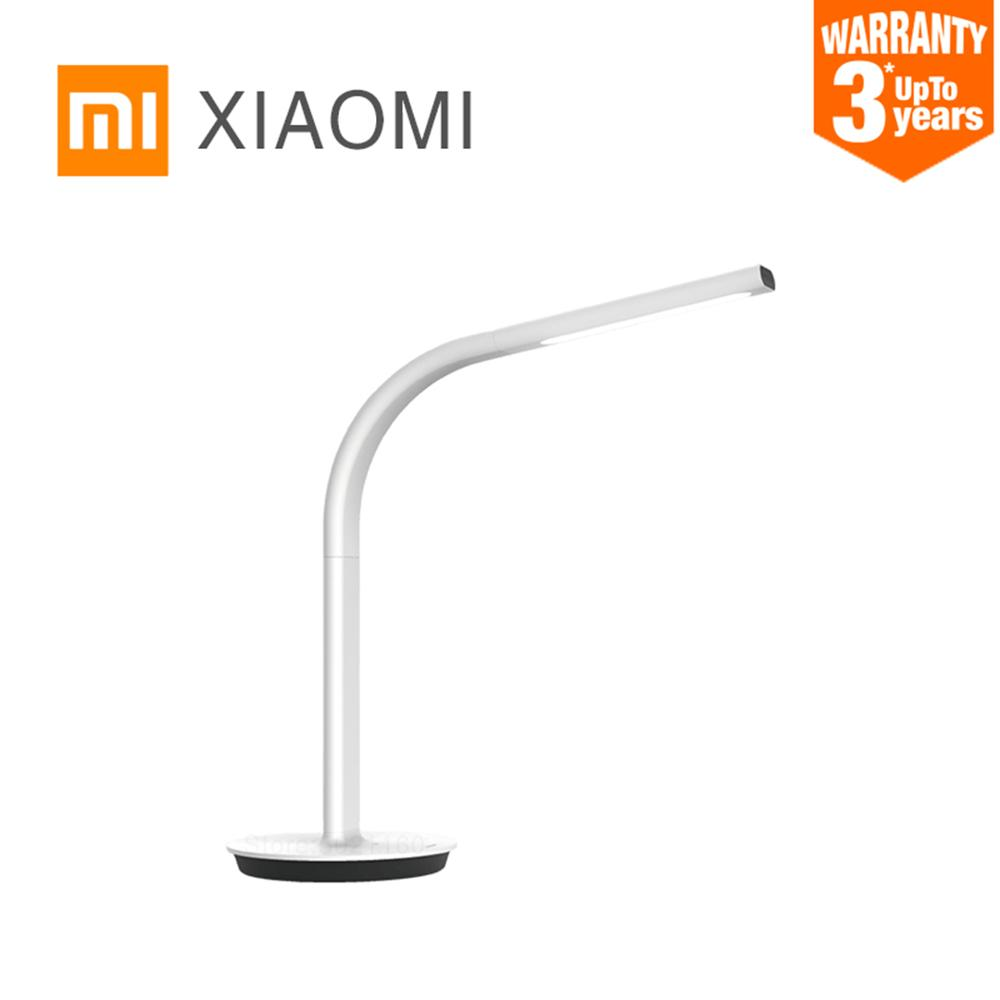 XIAOMI MIJIA Philips Table Lamp 2 LED Smart desk lamp bending study lamp read office table light Double light source APP control-in Desk Lamps from Lights & Lighting
