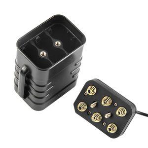 Image 2 - 防水 DIY 6x18650 バッテリーケースボックスカバーと 12V DC と Usb 電源バイク LED ライト携帯電話ルータ