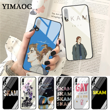 YIMAOC Norwegian Tv Skam Fashion Glass Case for Huawei P10 lite P20 Pro P30 P Smart honor 7A 8X 9 10 Y6 Mate 20