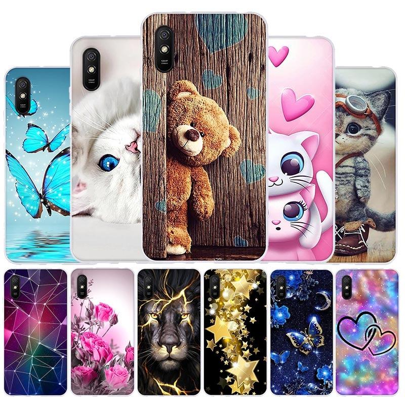 TPU Case For Xiaomi Redmi 9A Case Silicone Soft Back Cover For Xiaomi Redmi 9A 9 9C NFC Phone Cases For Xiomi Redmi 9 a Covers