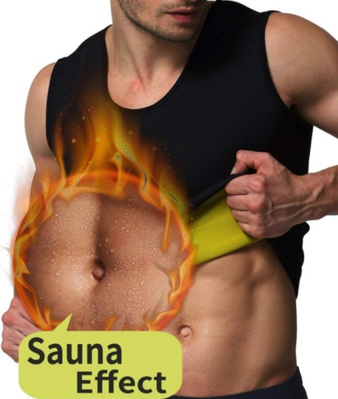 Colete de Neoprene Sauna Anit Perda de Peso Celulite Barriga Slimming Do Corpo Shaper Cintura Trimmer Abdômen Tummy Controle Shaperwear