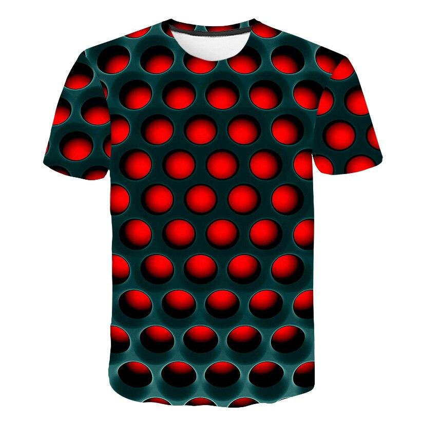 Boys' Casual Square-Printed Tshirts