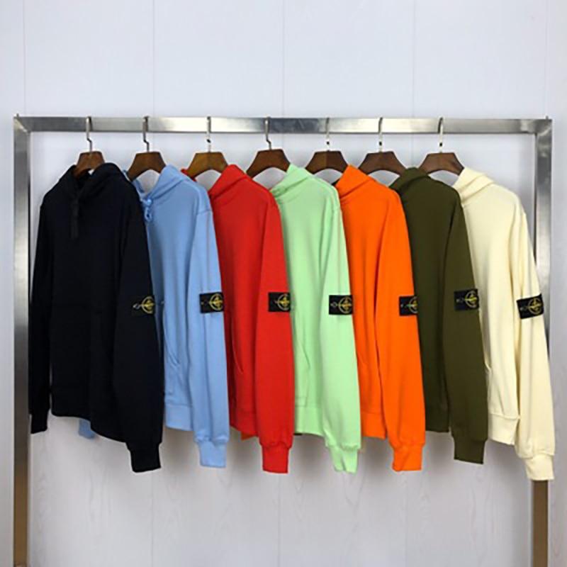 2020 Spring and Autumn Women's Solid Color Hoodie Sweatshirt Hip Hop Street Style Men's Loose Hoodie Pullover