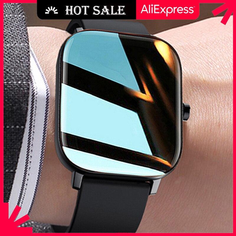 Смарт часы Ipbzhe для женщин, 2021 дюйма, Android, умные часы для мужчин, IOS, Iphone, Huawei