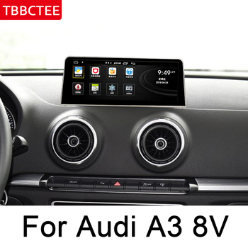 For Audi A3 8V 2014~2018 MMI Car Android Touch Screen Radio Audio Multimedia Player Stereo Display navigation GPS Navi Map WIFI image