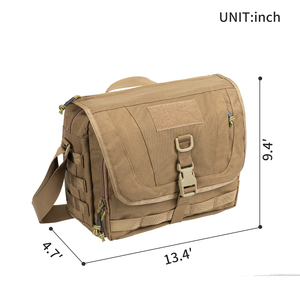 Image 2 - EXCELLENT ELITE SPANKER  Casual Tactical Messenger Package Shoulder Strap Travel Bag Multi function Hiking Shoulder Bag
