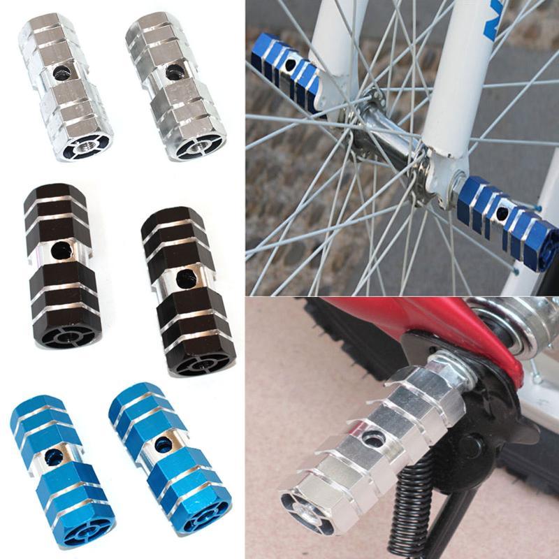 4PC  BMX Mountain Bike Bicycle Quality Pedal Foot Stunt Hexagonal Axle Pegs
