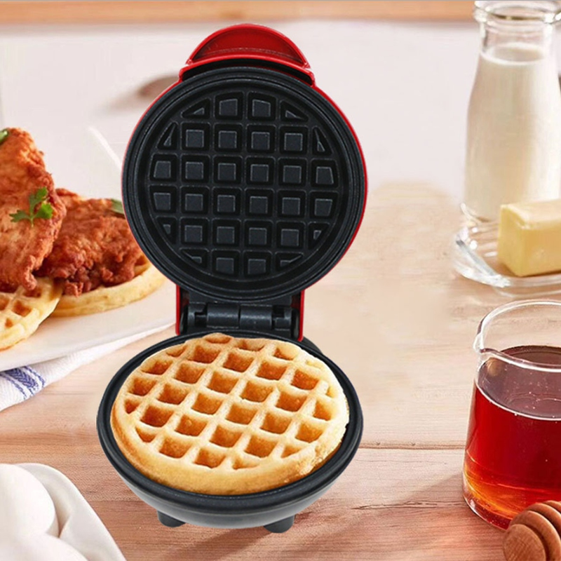 Electric Waffle Machine Egg Cake Oven Pancake Non-Stick Baking Tray Breakfast Machine Muffin Sandwich Machine