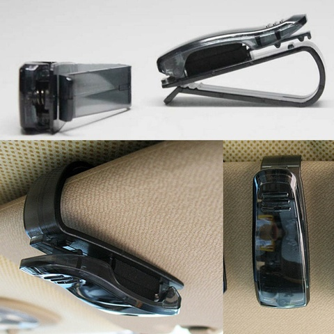 1 pcs Hot Sale Auto Fastener Cip Auto Accessories ABS Car Vehicle Sun Visor Sunglasses Eyeglasses Glasses Holder Ticket Clip Islamabad