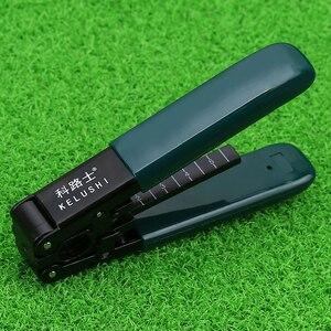 Image 5 - KELUSHI 13 Pcs/Set FTTH Fiber Optic Tools Kit with FC 6S Cleaver and Plastic 5mW Visual Fault Locator Wire Stripper Tool
