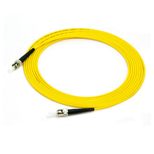 10pcs ST/UPC ST/UPC  Simplex 9/125 SingleMode SM Fiber Optic Cable Patch Cord Jumper