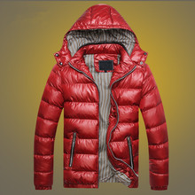 Men's Casual Cotton-padded Jacket Coat Warm Padded Large Size Hooded Cotton Coat Men's Down Cotton Suit Parkas Mens Winter Coats 2016 new brand winter warm jacket for men coats casual mens thick coat male slim casual cotton padded down outerwear