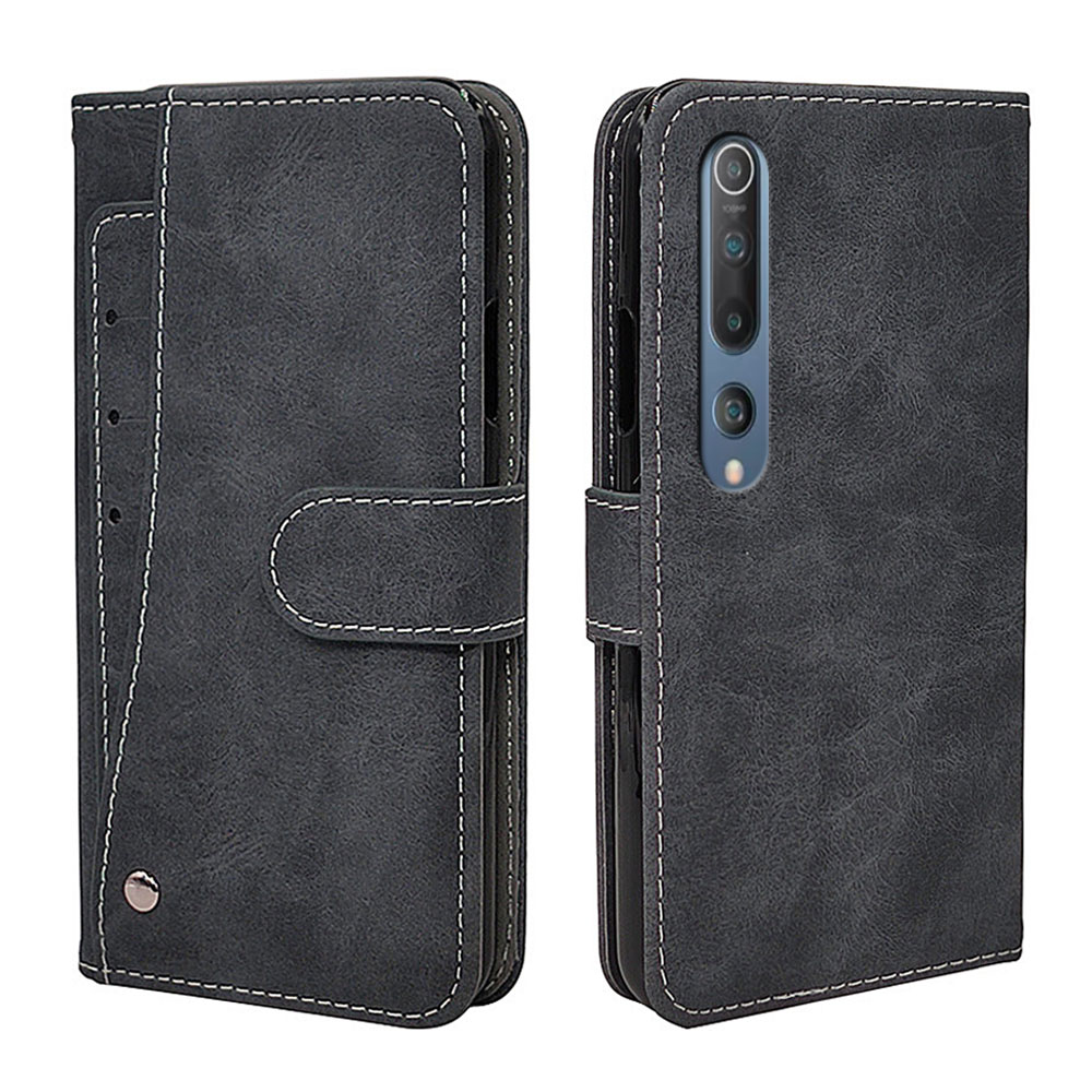 New Business Flip Leather Case For Xiaomi Mi 10 9 9T 8 A1 A2 A3 SE Pro Mix 2 2S Lite Case Vintage Silicone Wallet Phone Cover