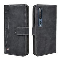 New Business Flip Leather Case For Xiaomi Mi 11 10 10T 9 9T 8 A1 A2 A3 SE Pro Mix 2 2S Lite Case Vintage Silicone Wallet Cover