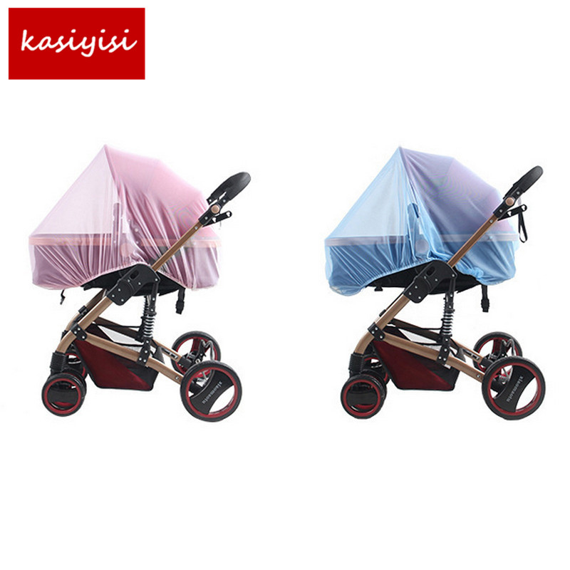 2Pc/lot BabyStroller Pushchair Mosquito Insect Shield Net Safe Infants Protection Mesh Stroller Accessories Cart  Mosquito Net