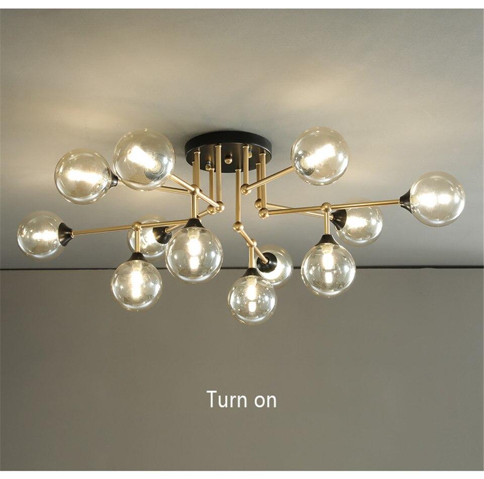 lustre iluminação sala estar cozinha quarto loft luminária decorativa