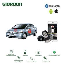 Universal Keyless Entry PKE Comfort System IOS Android APP Phone Car Alarm Boost Remote Start Engine civic