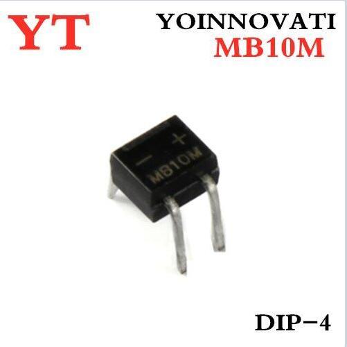 10pcs/lot MB10M 1A/1000V DIP-4