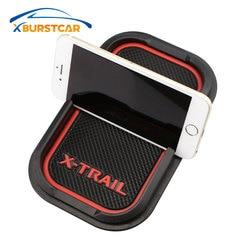 Xburstcar Car Phone Holder Pad Mats Car Anti-skid Pad Anti Slip Mat for Nissan X-trail Xtrail T31 T32 2008 - 2020 Accessories